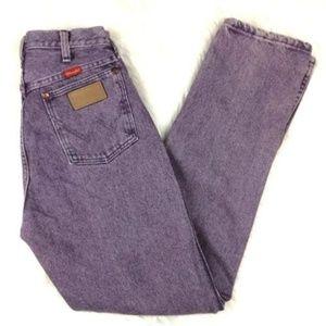 Vintage Wrangler Purple High Waist Mom Jeans
